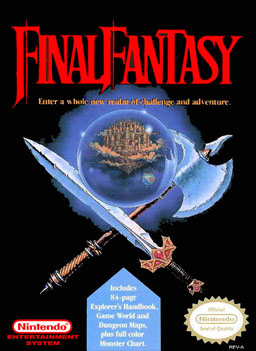 Final Fantasy NA Box Cover Art