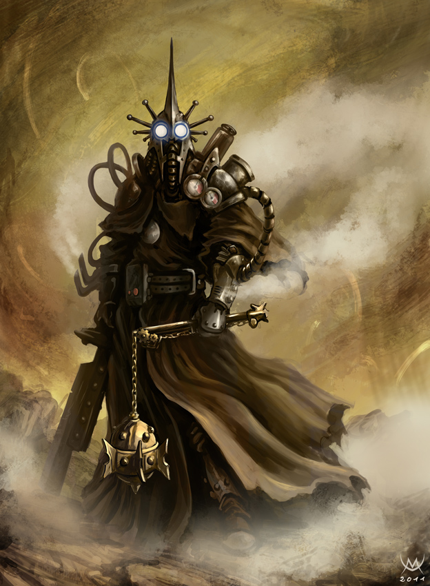 Steampunk Witch King of Angmar from the Lord of the Rings